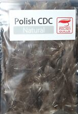 Fly Tying Polish Quills Natural CDC 1g packet