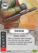 Stun Baton - Rare w/ DICE - #74  - NM - SW Destiny LEGACIES