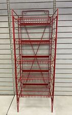 5 Tier Red Chip Rack