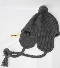 AUTH $128 Diesel Women Wool Earflap Hat