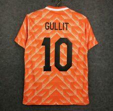 gullit holland euro 1988 retro soccer jersey vintage football shirt classic