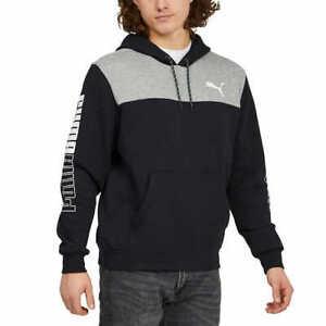 SALE! PUMA Men's Mirrored Colorblock Hooded Hoodie Sweatshirt VARIETY! K52