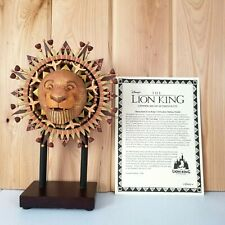 MUFASA SCULPTURE LE 1500 Kevin Kidney The LION KING Disney Celebration w/ COA