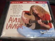 POCKET SONGS KARAOKE DISC PSCDG 1617 AVRIL LAVIGNE CD+G MULTIPLEX