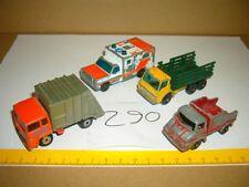 Konvolut Nr. 290 MATCHBOX-LESNEY Refuse Truck No. 38, Stake Truck No. 4, Wreck T
