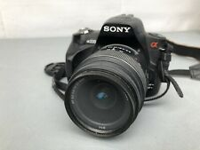 Sony Alpha A230 10.2 MP Digital SLR Camera and with 18-55mm Lens Tested Working