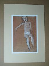 Egon Schiele (1890-1918) - B.-Nr.: 166 - DIN A3