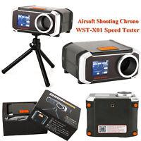 Shooting Chrono Chronograph WST-X01 Bluetooth Speed Tester Speedometer & Tripod
