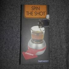 New Barbuzzo Original Spin the Shot - Fun Party Drinking Game - Pour a Shot New