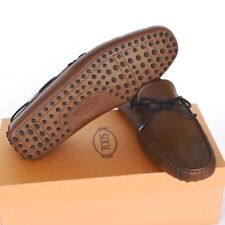 TOD'S Tods New sz UK 9  - US 10 Designer Mens Drivers Loafers Shoes brown