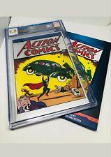 Action Comics #1 CGC 9.9 MT 35 Grams Silver Foil DC Superman First 1st Release