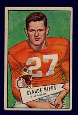 Claude Hipps 1952 Bowman Small #41 Steelers Ex 16063