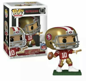 Funko POP: NFL Jimmy Garoppolo 49ers 141 Red Jersey With Protector