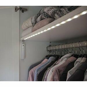 LED - LICHTBAND SCHRANKLICHT mit Bewegungsensor Schrankbeleuchtung mit Timer