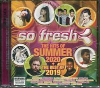 So Fresh The Hits of Summer 2020 + The Best of 2019 CD NEW