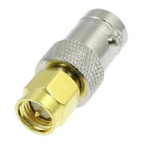SMA to BNC Male to Female Connector Adapter Aerial Antenna M/F