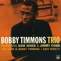 Bobby Timmons: THIS HERE IS BOBBY TIMMONS + EASY DOES IT (2 LPS ON 1 CD)
