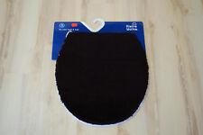 Badteppich Kleine Wolke Soft Deckelbezug Schwarz 47x50
