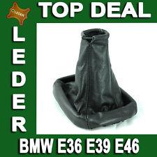 Gear Shift Stick Boot Cover Gaiter Genuine Lamb Leather For BMW E36 E39 E46