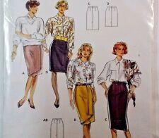 Burda Ladies Skirt Wrap Look Sewing Pattern  4955  New  Size  10-22
