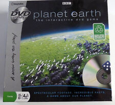 NEW & Sealed Planet Earth Interactive DVD Game