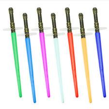 2 шт. Star Wars 2 в 1 складные красочные огни светодиодный световой меч крест меч звук