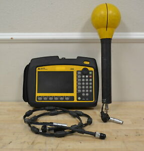 Narda SRM-3006 Selective RF Radiation Meter w/3501/03 Antenna 27MHz-3GHz READ
