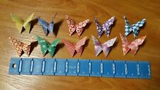 "100 Chiyogami Paper Origami Wedding Butterflies, Butterfly Favors  3""x 3"""