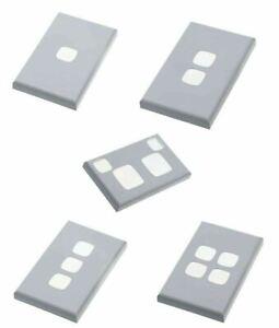 HPM Excel XL Switch & Socket Cover Plates - Matt White