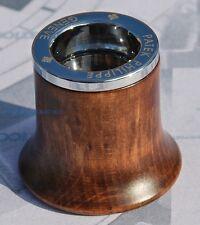 LENTE di ingrandimento monocolo da orologi ORIGINALE PATEK PHILIPPE in legno