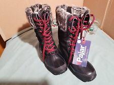 Pajar garland women's winter boot black New in box size 39 8 8.5 US
