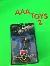 Babylon 5 John Sheridan in Earth Force Uniform Figure w/ Babylon 5 Moc Wb