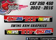 FOR HONDA CR CRF 02-17 FULL SWING ARM GRAPHICS STICKERS MOTOCROSS DECALS MX