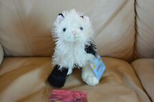WEBKINZ DOMINO CAT HM334 FULL SIZE PLUSH NEW WITH SEALED CODE FREE SHIPPING