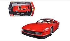 LGB G Échelle 1:24 1984 Ferrari Rouge Testarossa détaillé Voiture Miniature