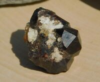 Red Almandine Garnet Dodecahedron Crystal Cluster to Ground and Protect Energy