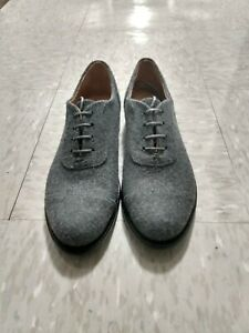 The Office of Angela Scott Oxford Shoes Gray Size 10/40