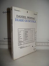 LIBRO Daniel Pennac DIARIO DI SCUOLA ed.2008 Traduzione Yasmina Melaouah☺