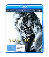 10,000 BC - BRAND NEW & SEALED BLU-RAY (PLATINUM COLLECTION) 2010