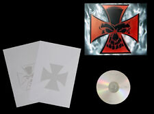 Step by Step Airbrush Schablone / Stencil 0519 Iron Cross/Skull & Anleitung