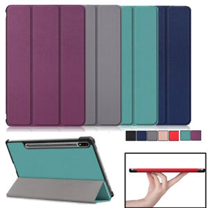 Smart Case Cover For Samsung Galaxy Tab S7 Plus 12.4 T970 T975 2020 Tablet Stand