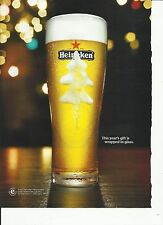 This year's gift is wrapped in glass. - Heineken Beer - '10 Beer Ad