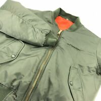 Rothco Men's Jacket MA-1 Military Flyer's Reversible High Visibility Boeing S