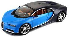 2016 Bugatti Chiron Azul/azul Bburago 11040