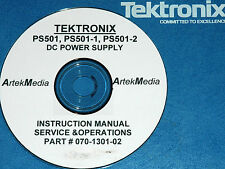 Tektronix Ps501 Ps501-1 Ps501-2 Instruction Manual (Operating & Service)