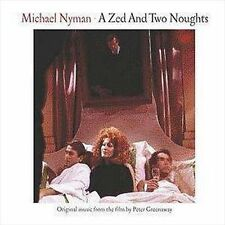 """MICHAEL NYMAN """"A Zed and Two Noughts"""" Soundtrack cd ."""