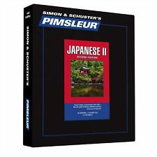 Pimsleur Learn/Speak JAPANESE Language Level 2 CDs NEW!