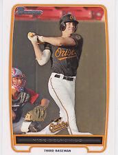 Nick Delmonico Baltimore Orioles 2012 Bowman Prospects Card