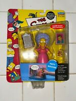 The Simpsons - Patty Bouvier series 4 World of Springfield figure by Playmates