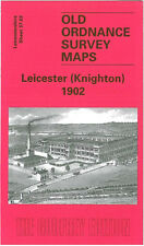 OLD ORDNANCE SURVEY MAP LEICESTER KNIGHTON 1902